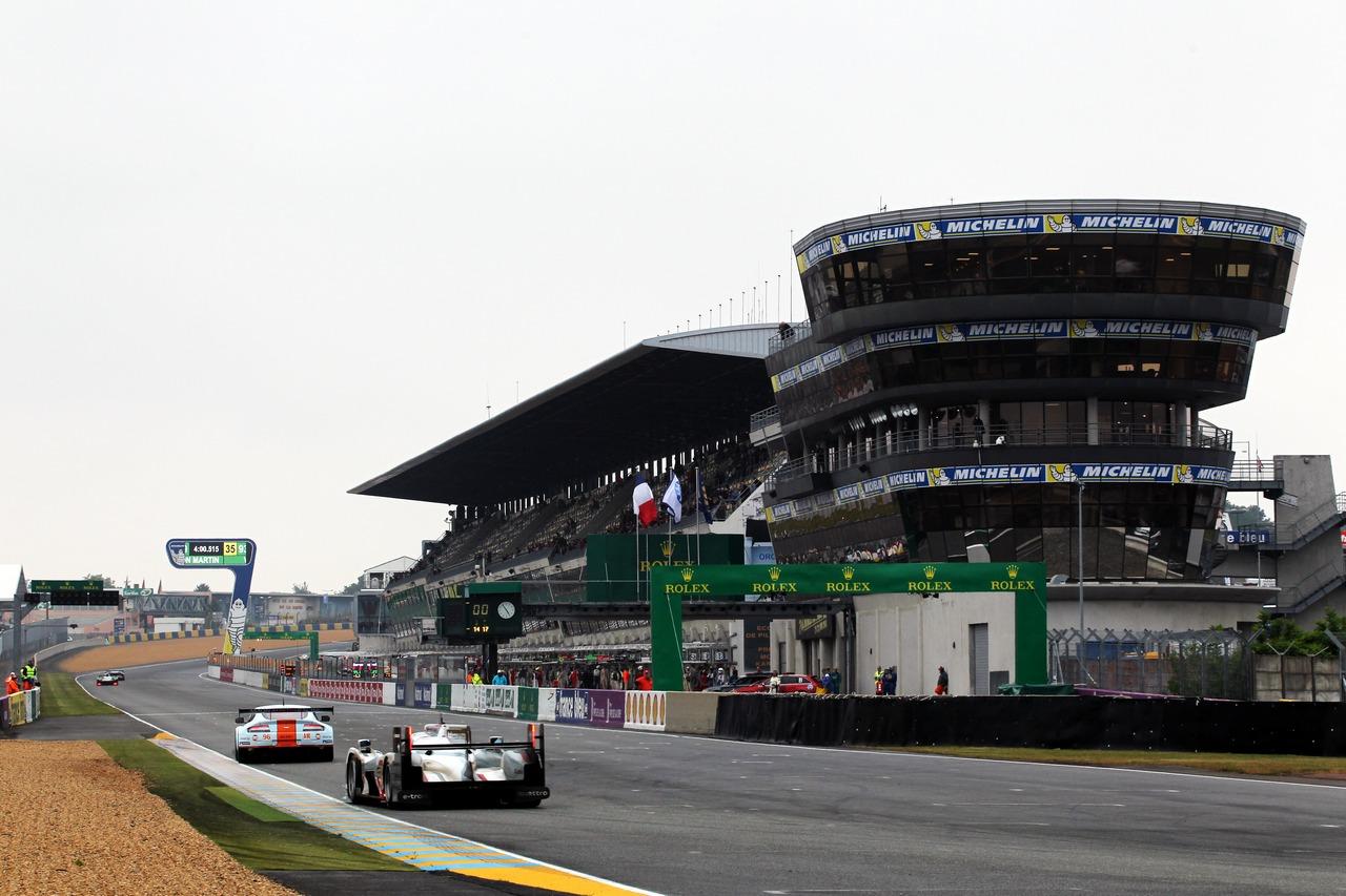 24 Hrs Of Le Mans 2013 Pre Event Testing 9 Giugno 2013