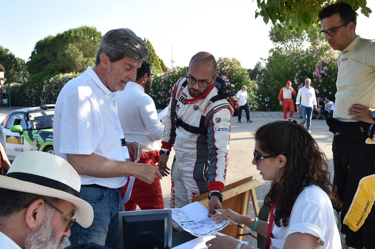 Daniele Mangiarotti (ITA) - Abarth 124 Rally RGT, Eurospeed