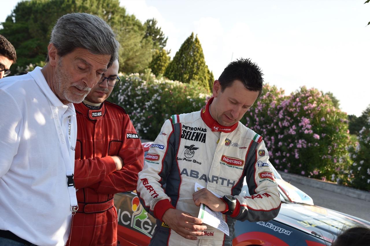 Daniele Michi (ITA) - Abarth 124 Rally RGT ASD Road Runner Team