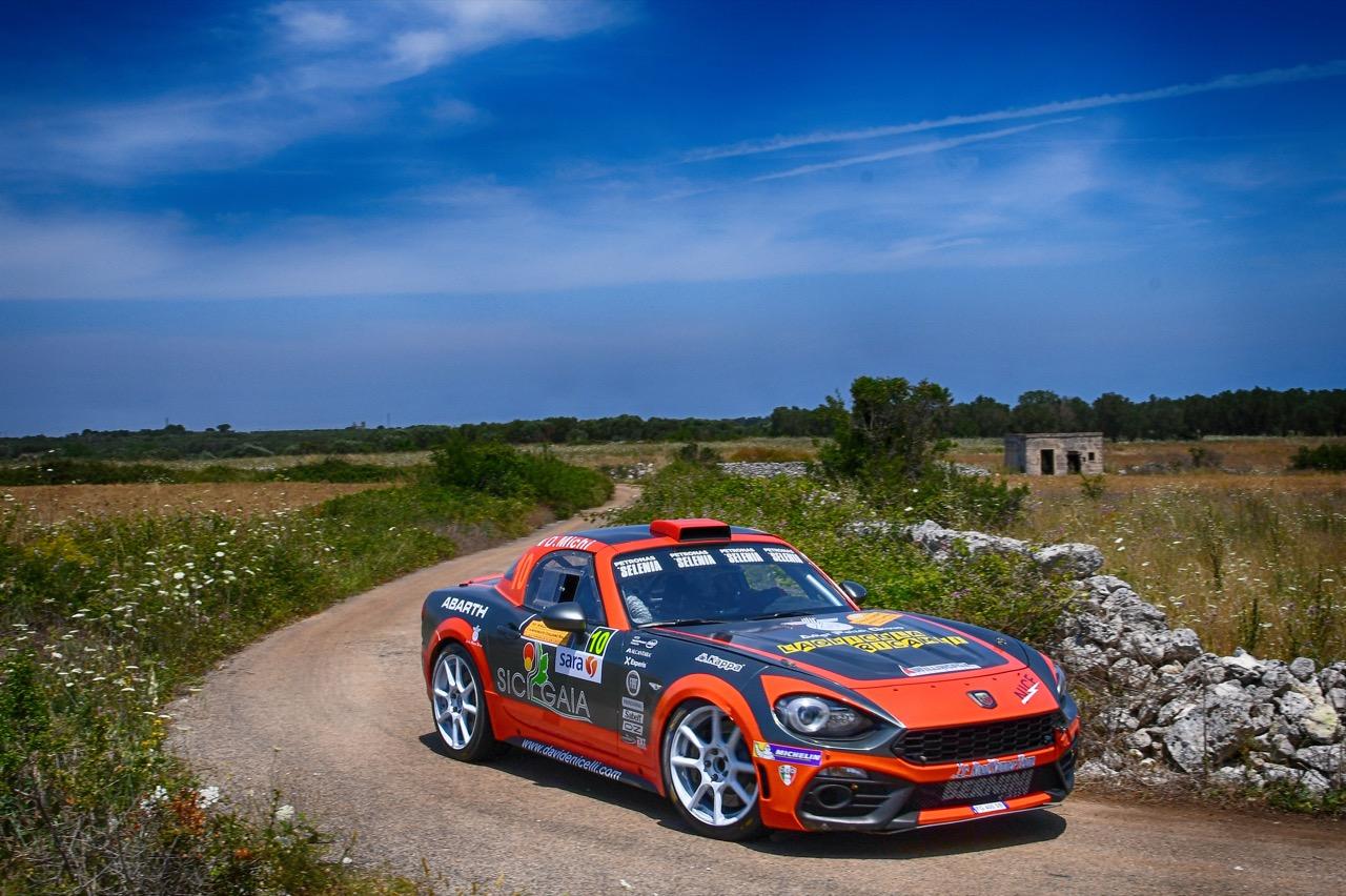 Davide Nicelli (ITA) - Daniele Michi (ITA) - Abarth 124 Rally RGT ASD Road Runner  Team