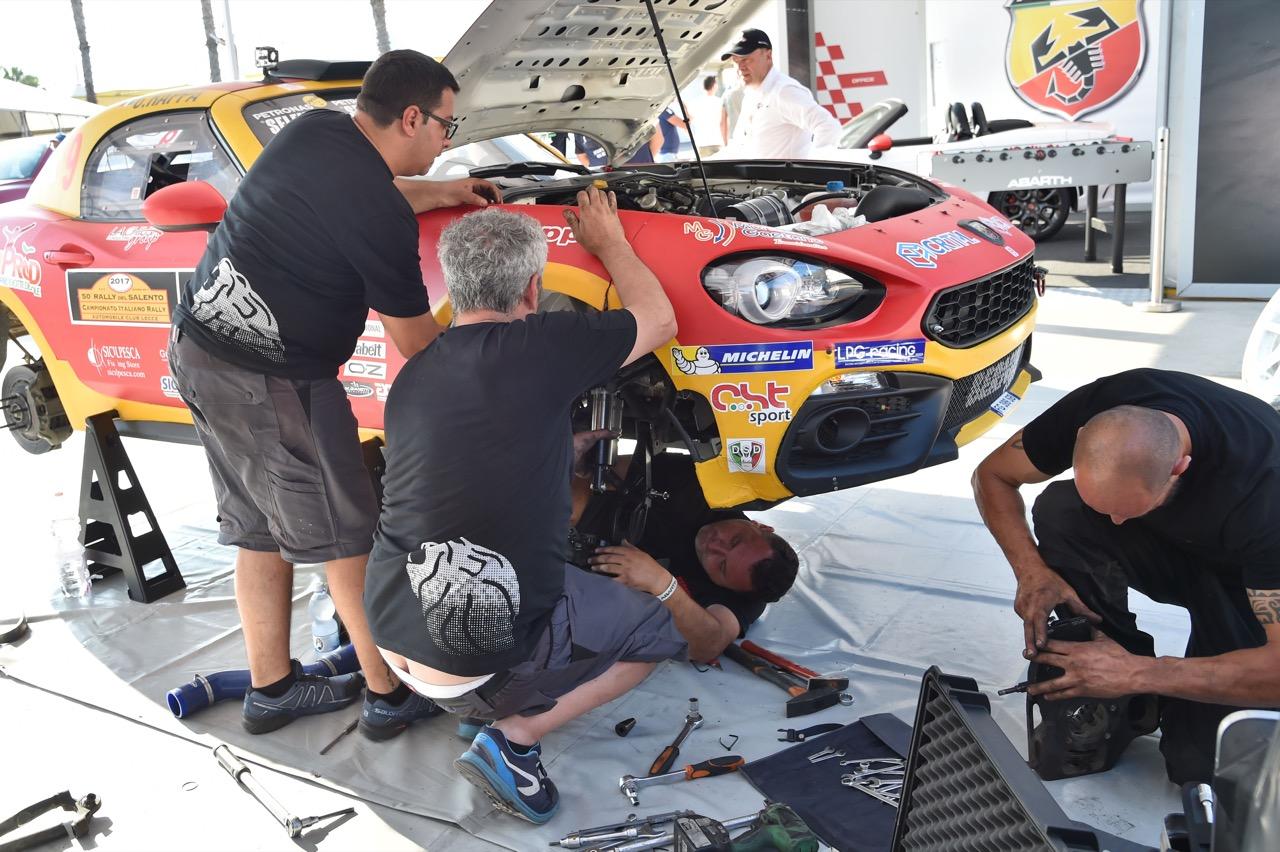 Salvatore Riolo (ITA) - Gianfrancesco Rappa (ITA) - Abarth 124 Rally RGT, Cst Sport