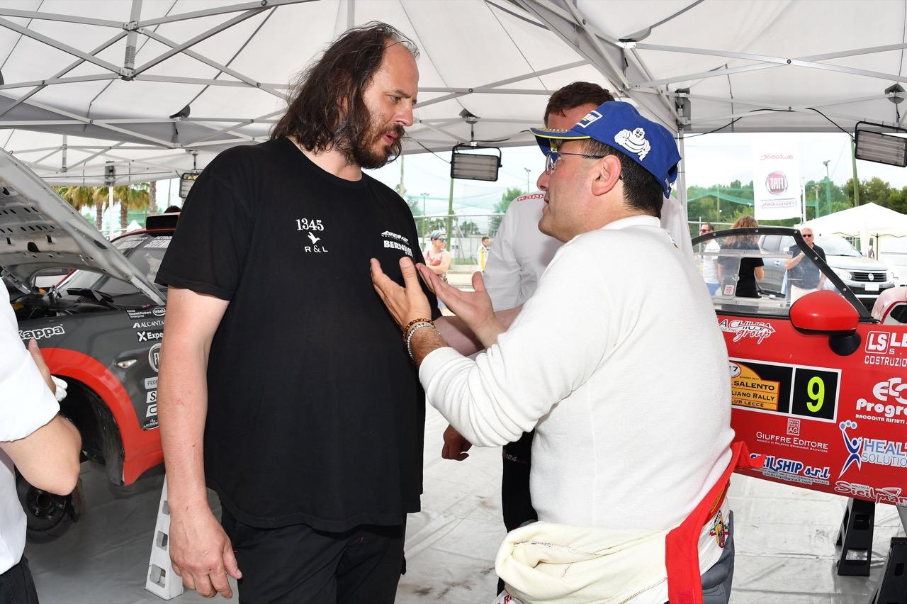 Salvatore Riolo (ITA) - Abarth 124 Rally RGT, Cst Sport