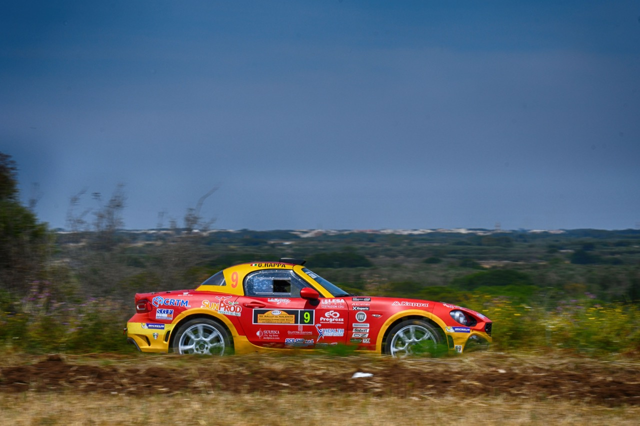 Salvatore Riolo (ITA) - Gianfrancesco Rappa (ITA) - Abarth 124 Rally RGT, Cst Sport