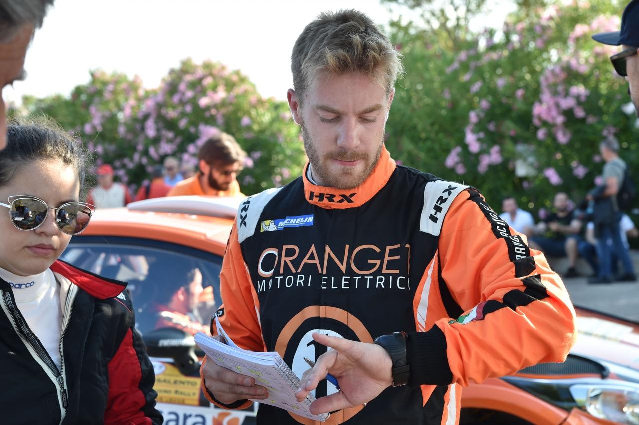 Pietro Elia Ometto (ITA) - Ford Fiesta R5, Orange 1 Racing