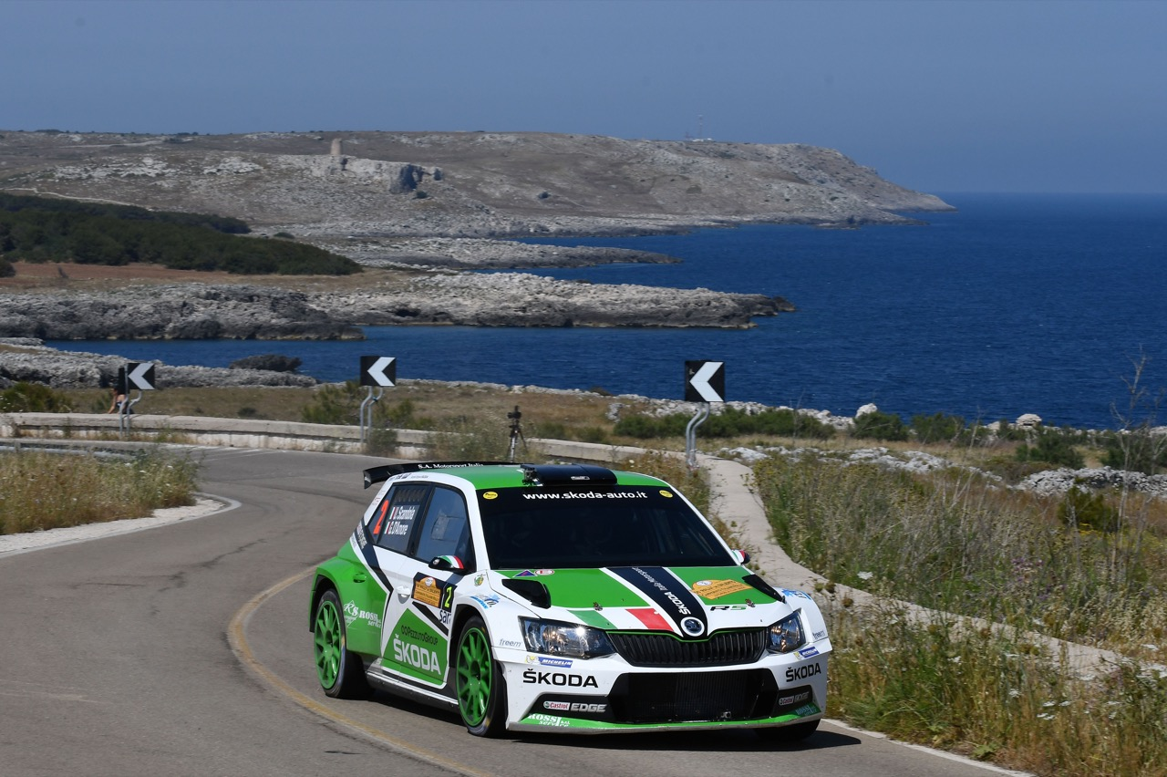 Umberto Scandola (ITA) - Guido D'amore (ITA) - Skoda Fabia R/R5, Car Racing