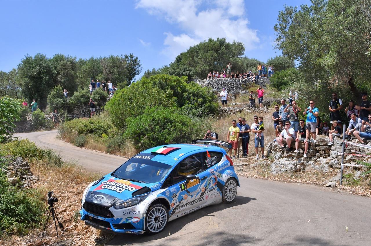 Ivan Ferrarotti (ITA) - Gaetano Caputo (ITA) - Ford Fiesta R/R5, Movisport