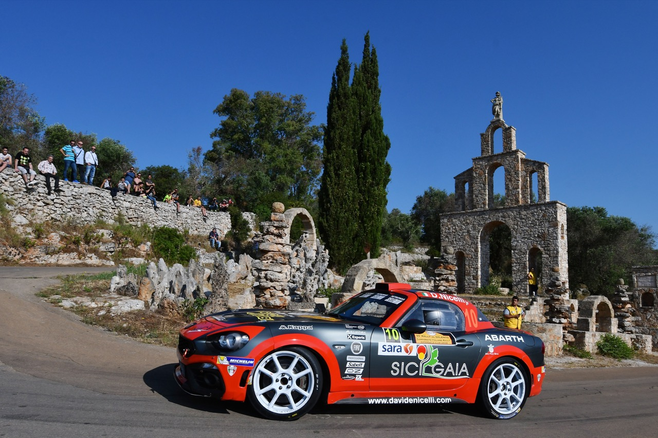 Davide Nicelli (ITA) - Daniele Michi (ITA) - Abarth 124 Rally RGT ASD Road Runner  Team