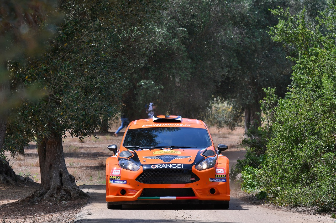 Simone Campedelli (ITA) - Pietro Elia Ometto (ITA) - Ford Fiesta R5, Orange 1 Racing