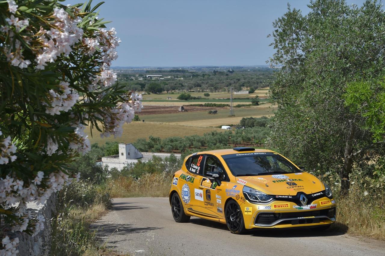 Riccardo Canzian (ITA) - Matteo Nobili (ITA) - Renault Clio R3/R3T, Winner Rally Team