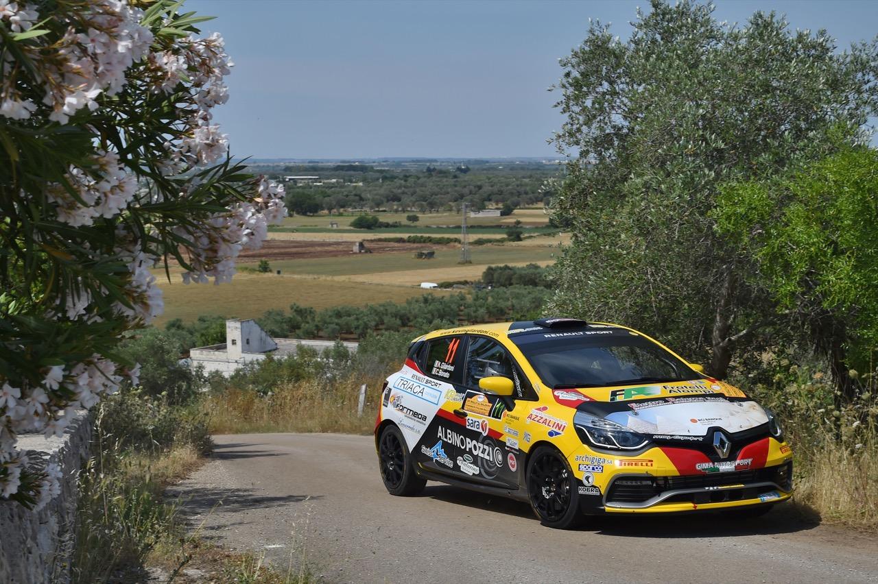 Kevin Gilardoni (ITA) - Corrado Bonato (ITA) - Renault Clio R3/R3T, Movisport
