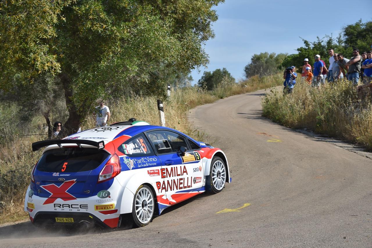 Antonio Rusce (ITA) - Sauro Farnocchia (ITA) - Ford Fiesta R/R5, X Racesport
