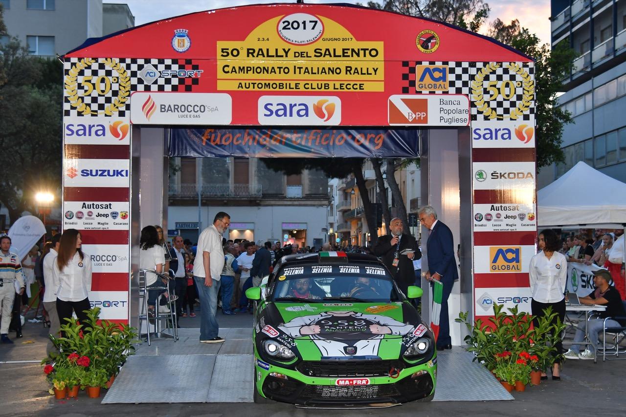 Fabrizio Andolfi Jr (ITA) - Daniele Mangiarotti (ITA) - Abarth 124 Rally RGT, Eurospeed
