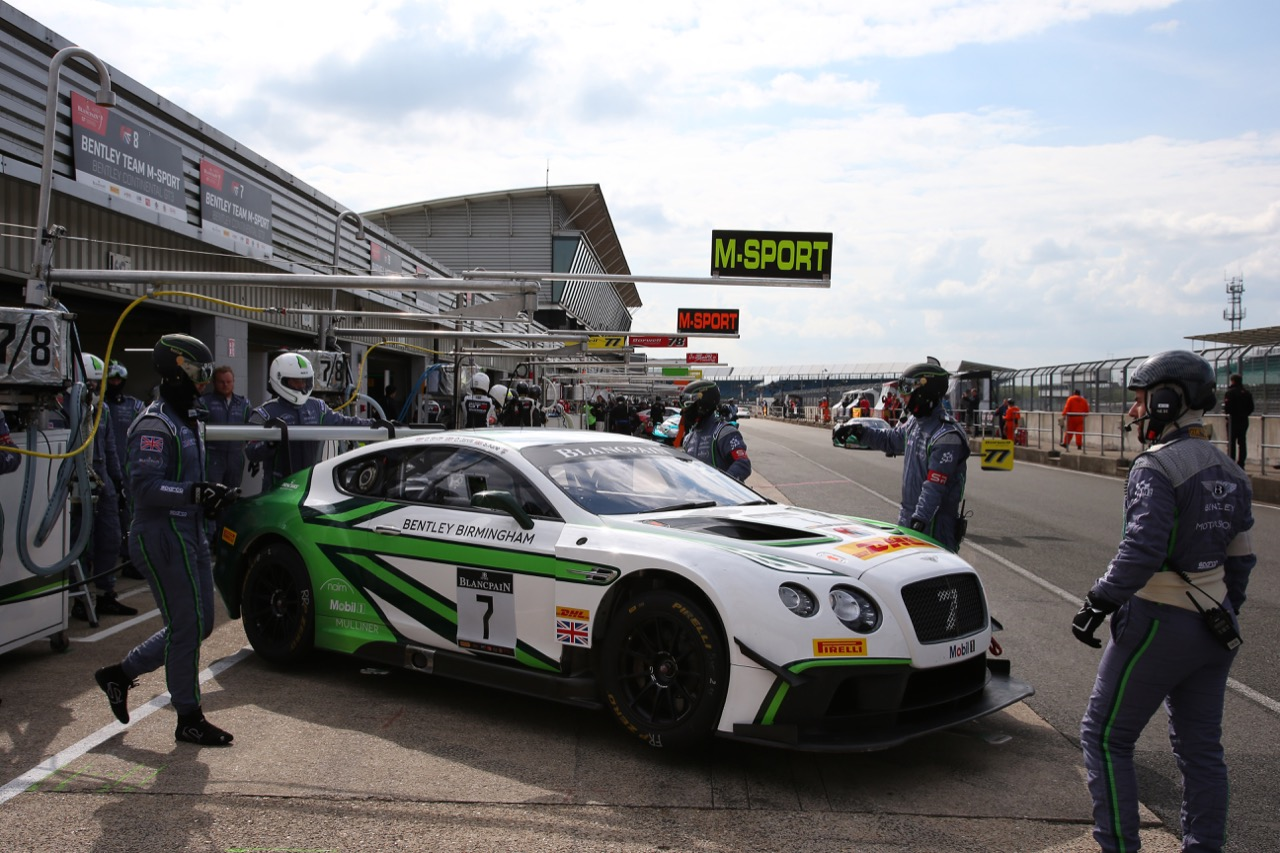 Bentley Team M-Sport - Steven Kane(GBR, Guy Smith(GB), Oliver Jarvis(GB) - Bentley Continental GT3