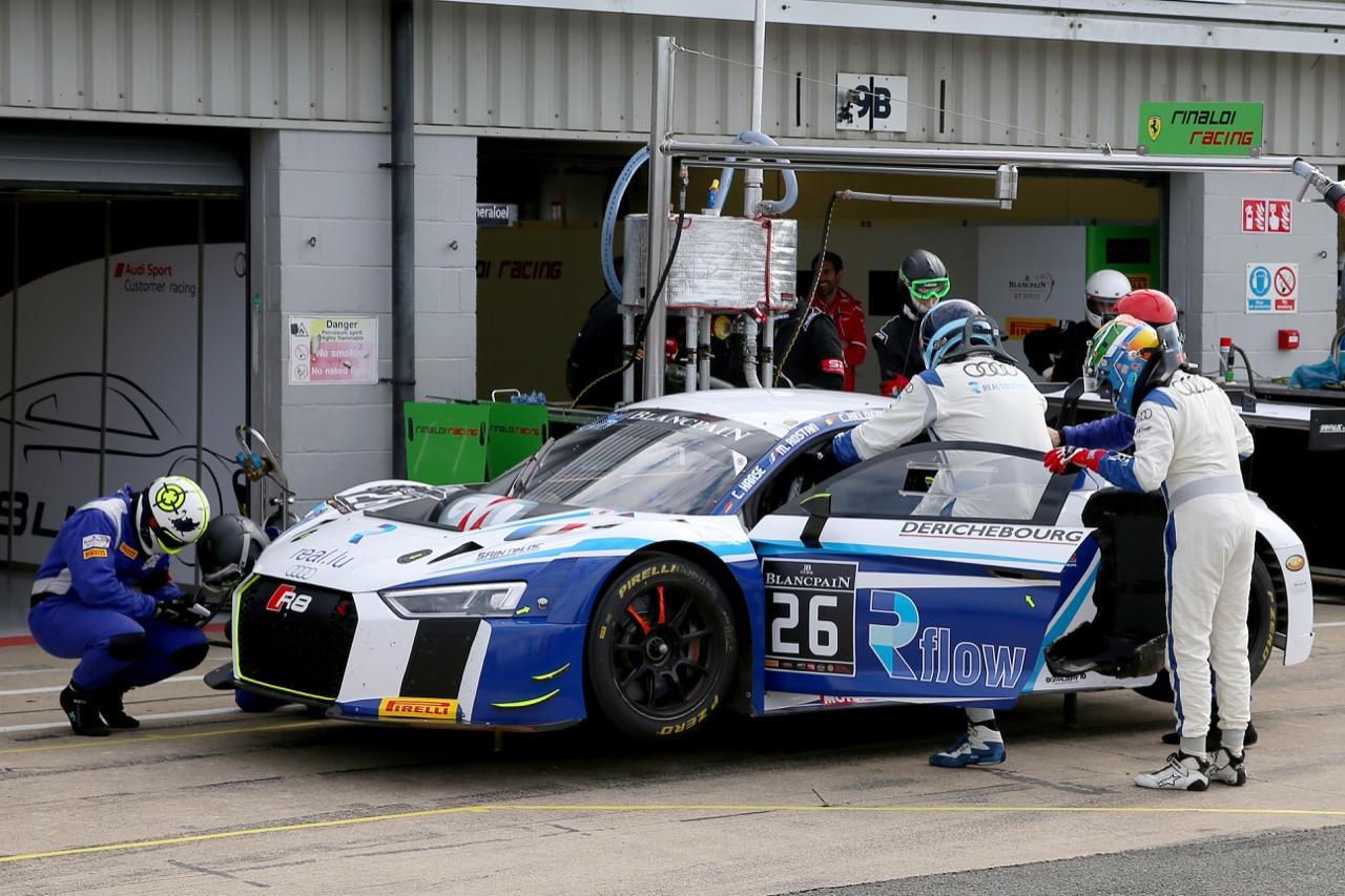 Sainteloc Racing - Christian Kelders(BEL), Marc Rostan(FRA), Christopher Haase(DEU) - Audi R8 LMS