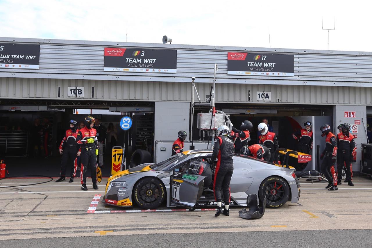 Team WRT - Stuart Leonard(GBR), Robin Frijns(NL), Jake Dennis(GBR) - Audi R8 LMS