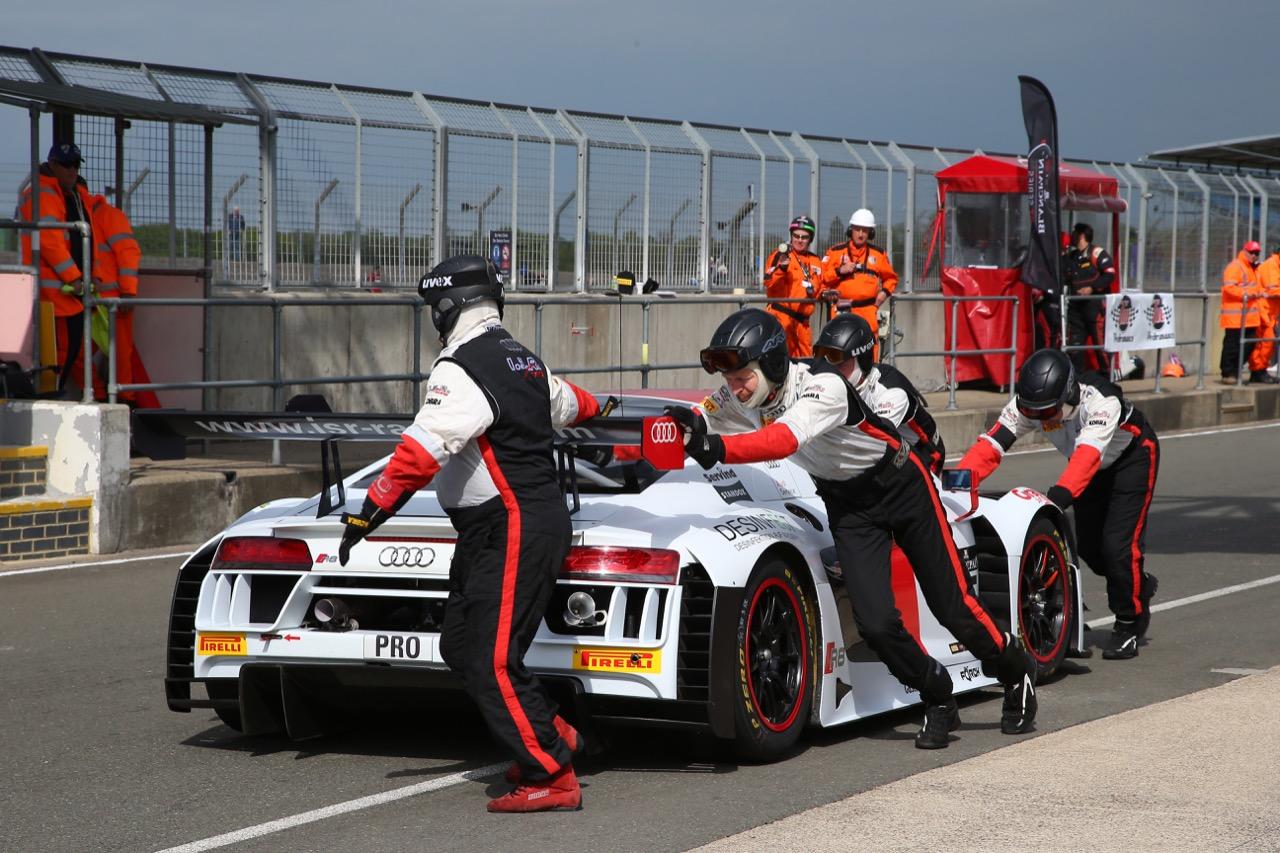 ISR - Filip Salaquarda(CZE), Frank Stippler(DEU), Clemens Schmid(AUT) - Audi R8 LMS