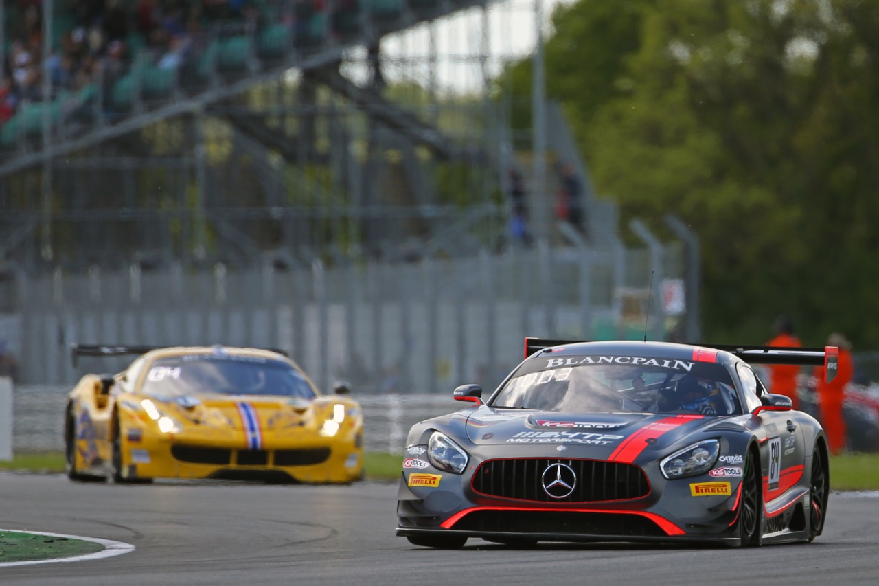Mercedes-AMG Team HTP Motorsport - Maxi Buhk(DEU), Franck Perera(FRA), Jimmy Eriksson(SWE) - Mercedes-AMG GT3