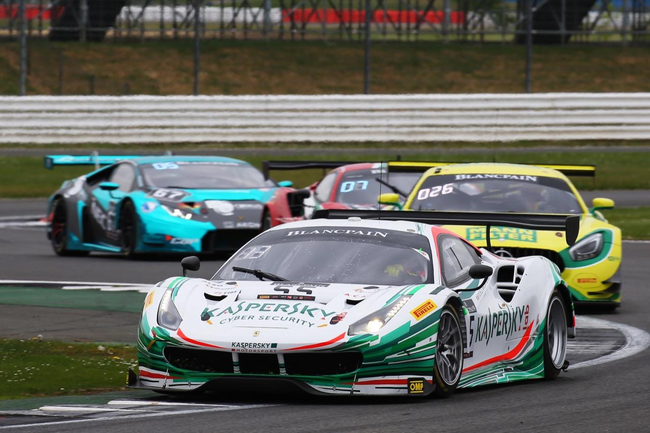 Kaspersky Motorsport - Giancarlo Fisichella(ITA), Marco Cioci(ITA), James Calado(GBR) - Ferrari 488 GT3
