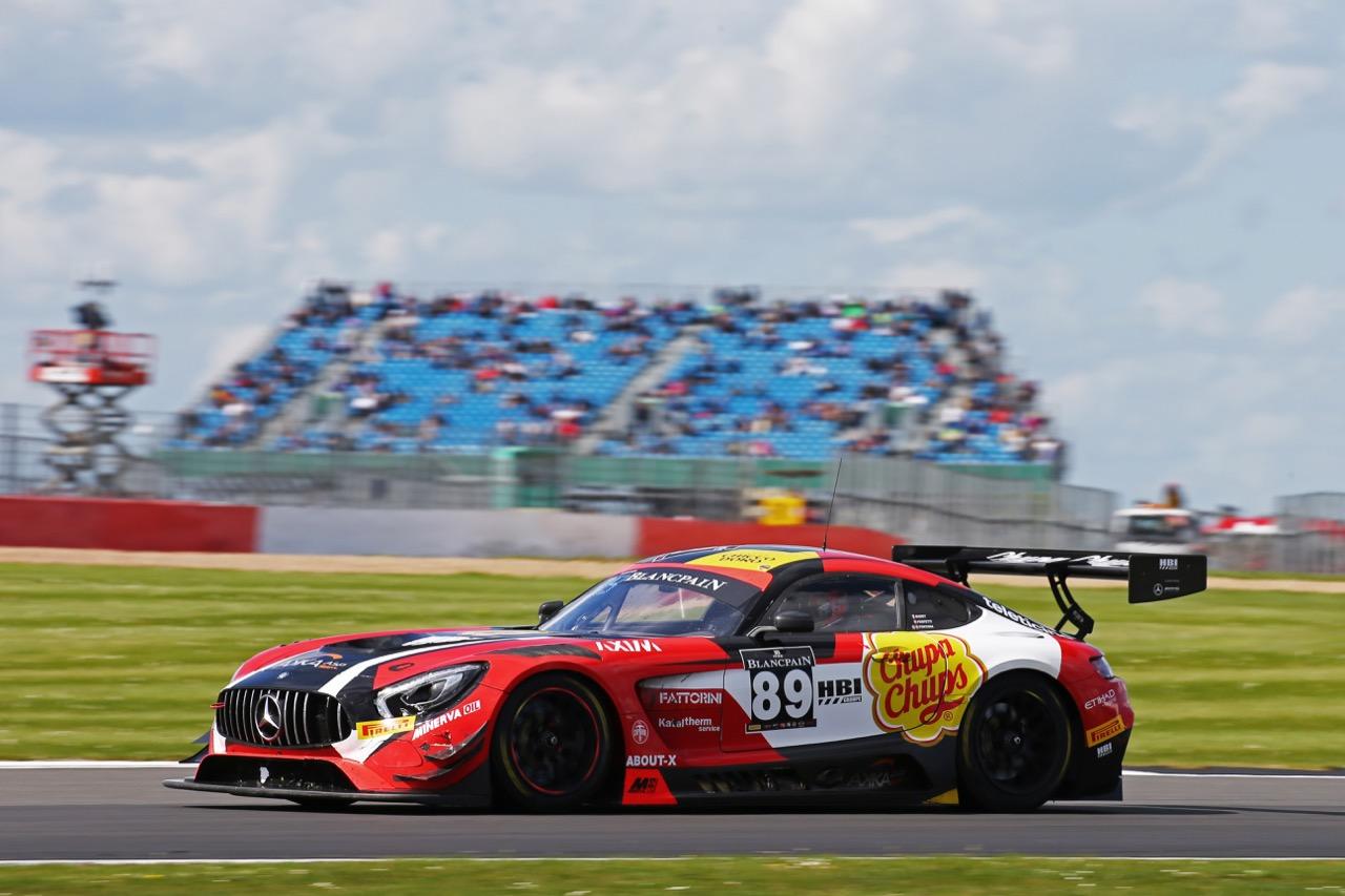 Akka ASP - Daniele Perfetti(CHE), Alex Fontana(CHE), Ludovic Badey(FRA) - Mercedes-AMG GT3