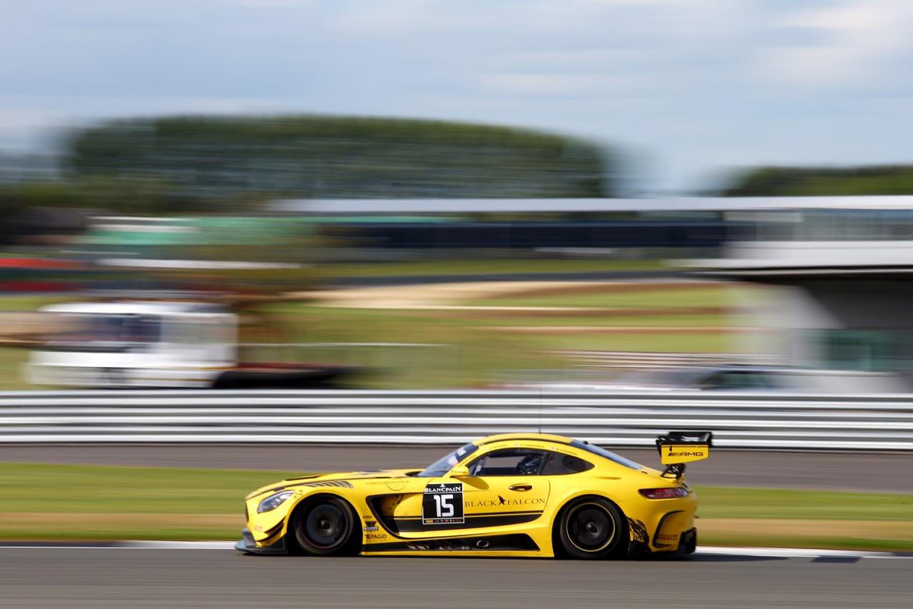 Black Falcon - Brett Sandberg(USA), Dore Chaponik(USA), Scott Heckert(USA) - Mercedes-AMG GT3