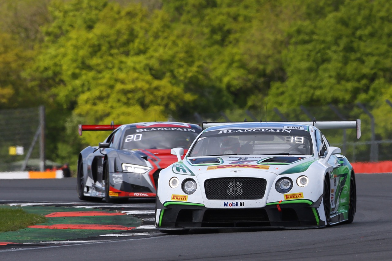 Bentley Team M-Sport - Andy Soucek(ESP), Maxime Soulet(BEL), Vincent Abril(MCO) - Bentley Continental GT3