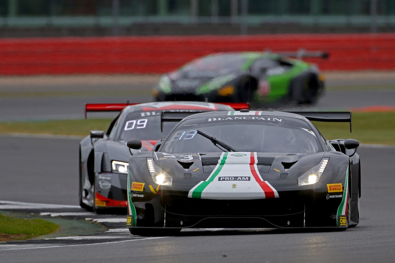 Spirit Of Race - Niek Hommerson(NL), Louis Machiels(BEL), Rory Butcher(GBR) - Ferrari 488 GT3