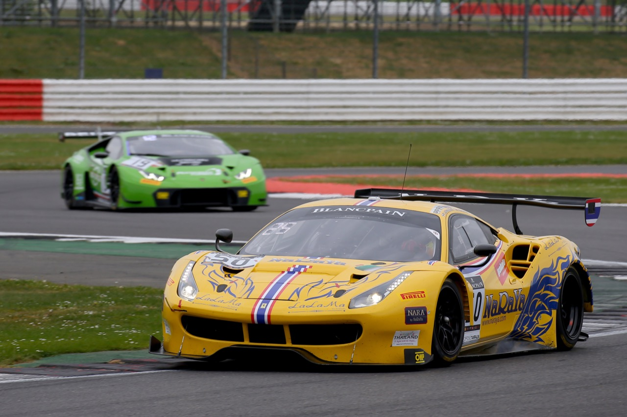 Spirit Of Race - Pasin Lathouras(THA), Michele Rugolo(ITA), Alessandro Pier Guidi(ITA) - Ferrari 488 GT3