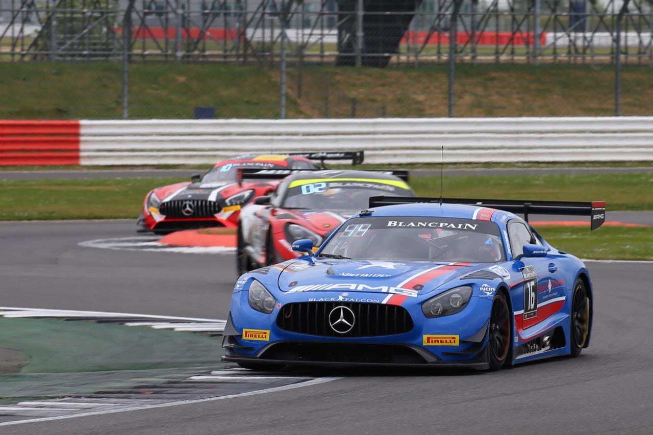 Black Falcon - Oliver Morley(GBR), Miguel Toril(E), Manuel Metzger(D) - Mercedes-AMG GT3