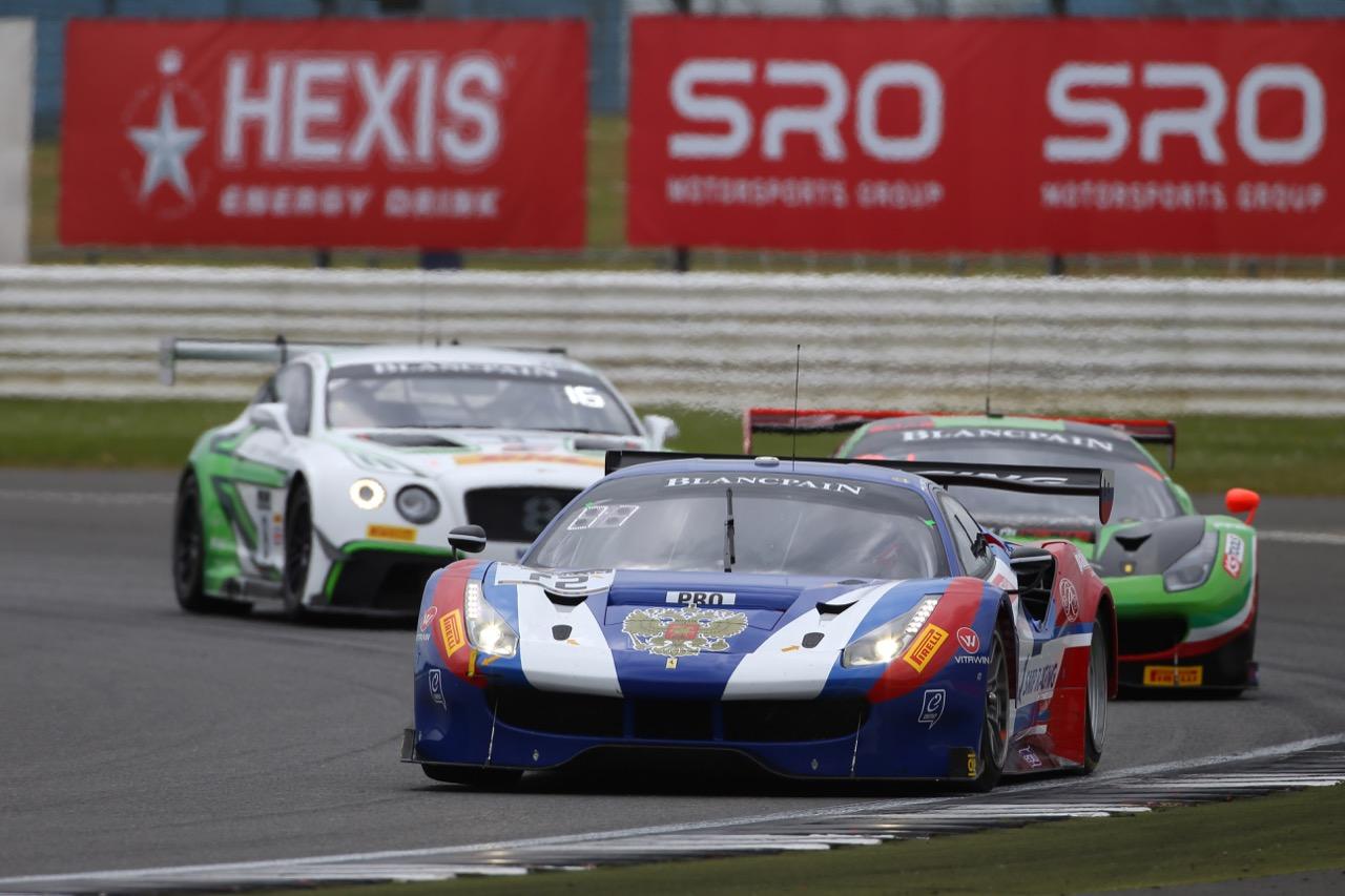 SMP Racing - Victor Shaytar(RUS), Davide Rigon(ITA), Miguel Molina(ESP) - Ferrari 488 GT3