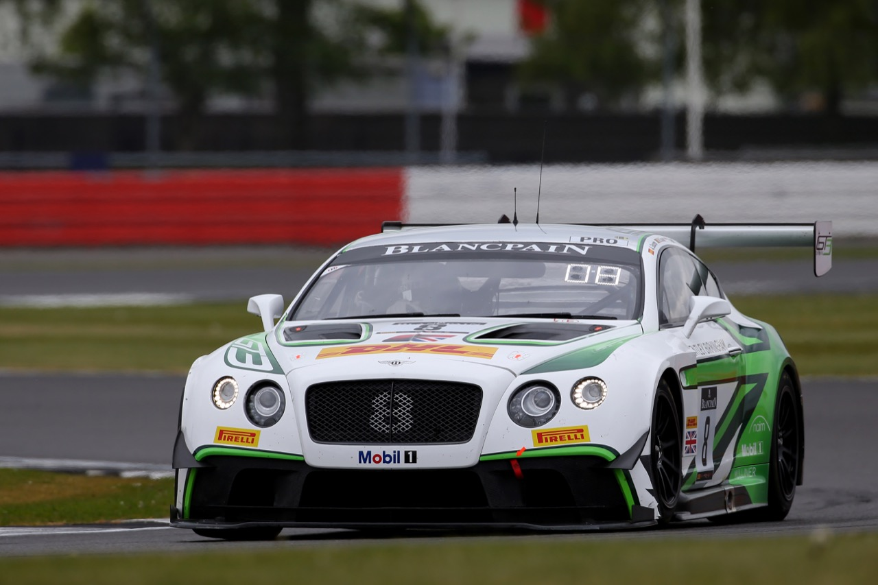 Bentley Team M-Sport - Andy Soucek(ESP), Maxime Soulet(BEL), Vincent Abril(MCO) - Bentley Continental GT3