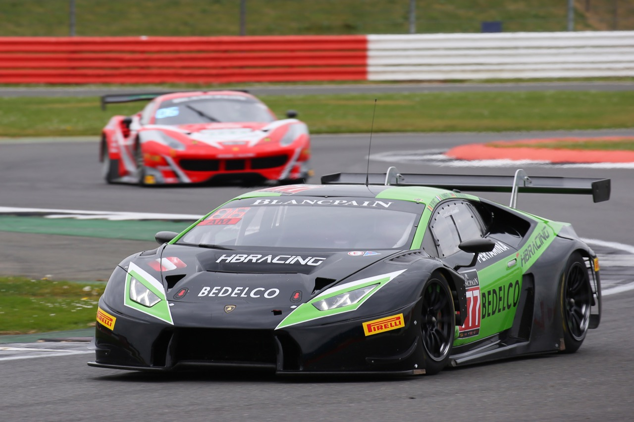Team HB Racing - Gilles Vannelet(FRA), Bernard Delhez(BEL), Dominic Jöst(DEU) - Lamborghini Huracan GT3