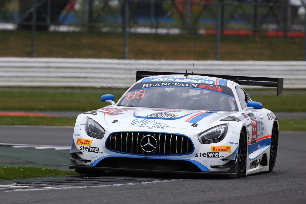 Team Zakspeed - Immanuel Vinke(D), Vincent Vong(HNK), Beniamino Caccia(I) - Mercedes-AMG GT3