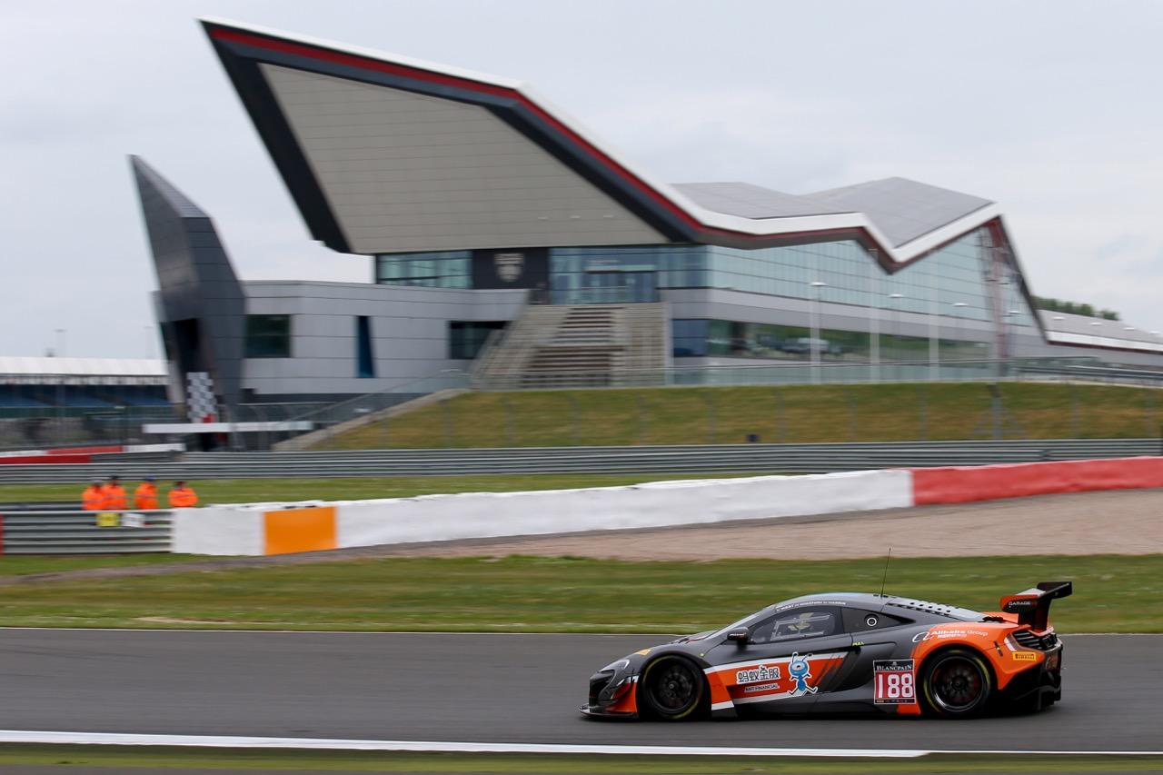 Garage 59 - Alexander West(SWE), Chris Goodwin(GBR), Chris Harris(GBR) - McLaren 650 S GT3