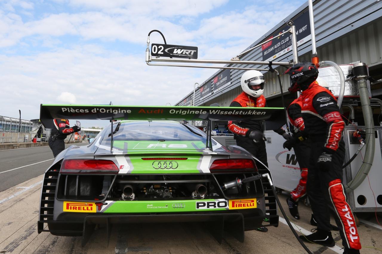 Belgian Audi Club Team WRT - Nathanaël Berthon(FRA),Stéphane Richelmi(MCO),Benoît Treluyer(FRA) - Audi R8 LMS