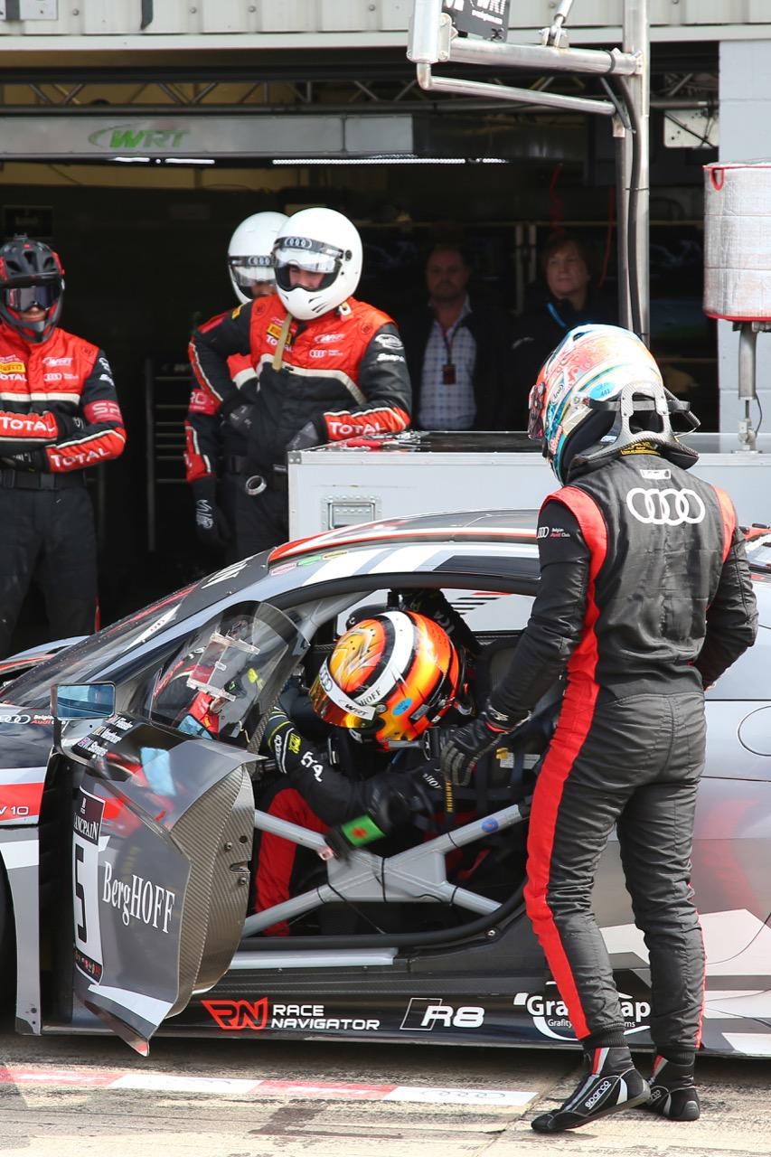 Belgian Audi Club Team WRT - Marcel Fässler(CH), Dries Vanthoor(BEL), Will Stevens(GBR) - Audi R8 LMS