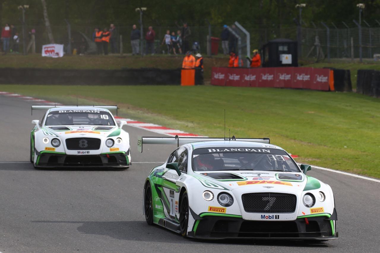 Bentley Team M-Sport - Vincent Abril(MCO) - Steven Kane(GBR) - Bentley Continental GT3