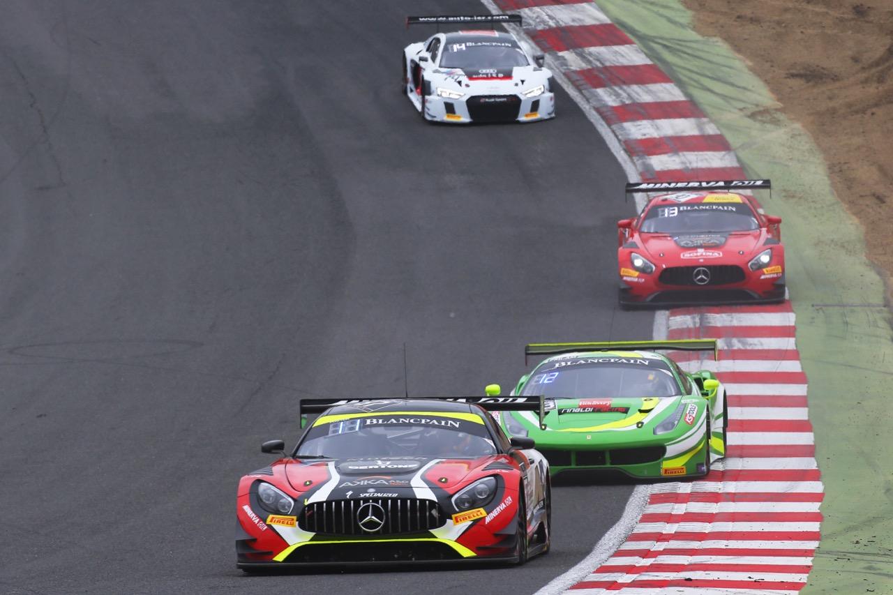 Akka ASP - Jean-Luc Beaubelique(FRA) - Jules Gounon(FRA) - Mercedes-AMG GT3