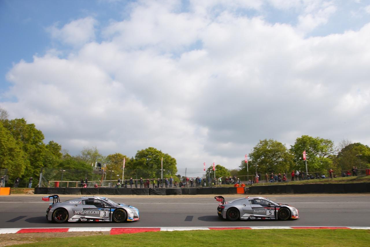 Team WRT - Jake Dennis(GBR) - Pieter Schothorst(NL) - Audi R8 LMS Belgian Audi Club Team WRT - Marcel Fässler(CHE) - Dries Vanthoor(BEL) - Audi R8 LMS