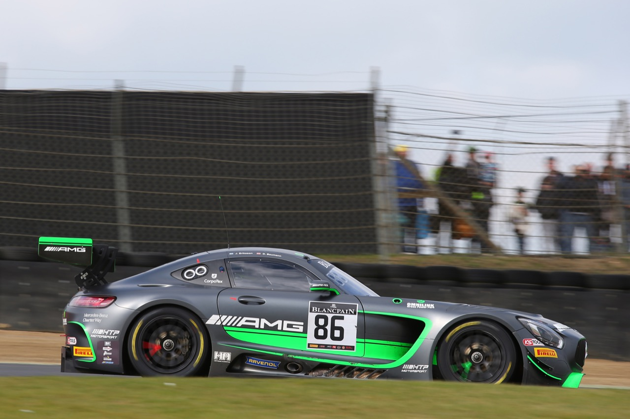 Mercedes-AMG Team HTP Motorsport - Jimmy Eriksson(SWE) - Dominik Baumann(AUT) - Mercedes-AMG GT3