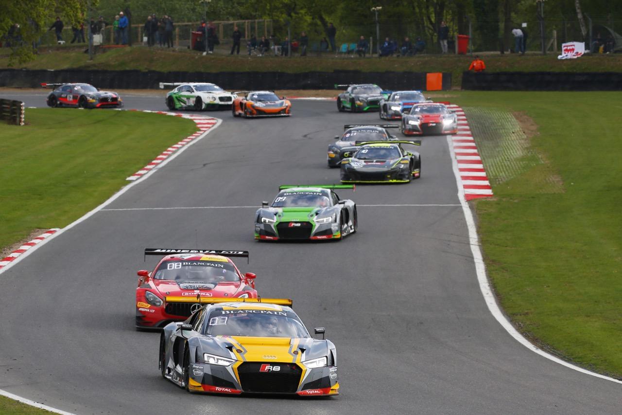 Team WRT - Stuart Leonard(GBR) - Robin Frijns(NL) - Audi R8 LMS