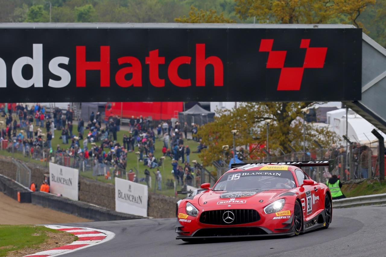 Akka ASP - Michael Meadows(GBR) - Raffaele Marciello(ITA) - Mercedes-AMG GT3