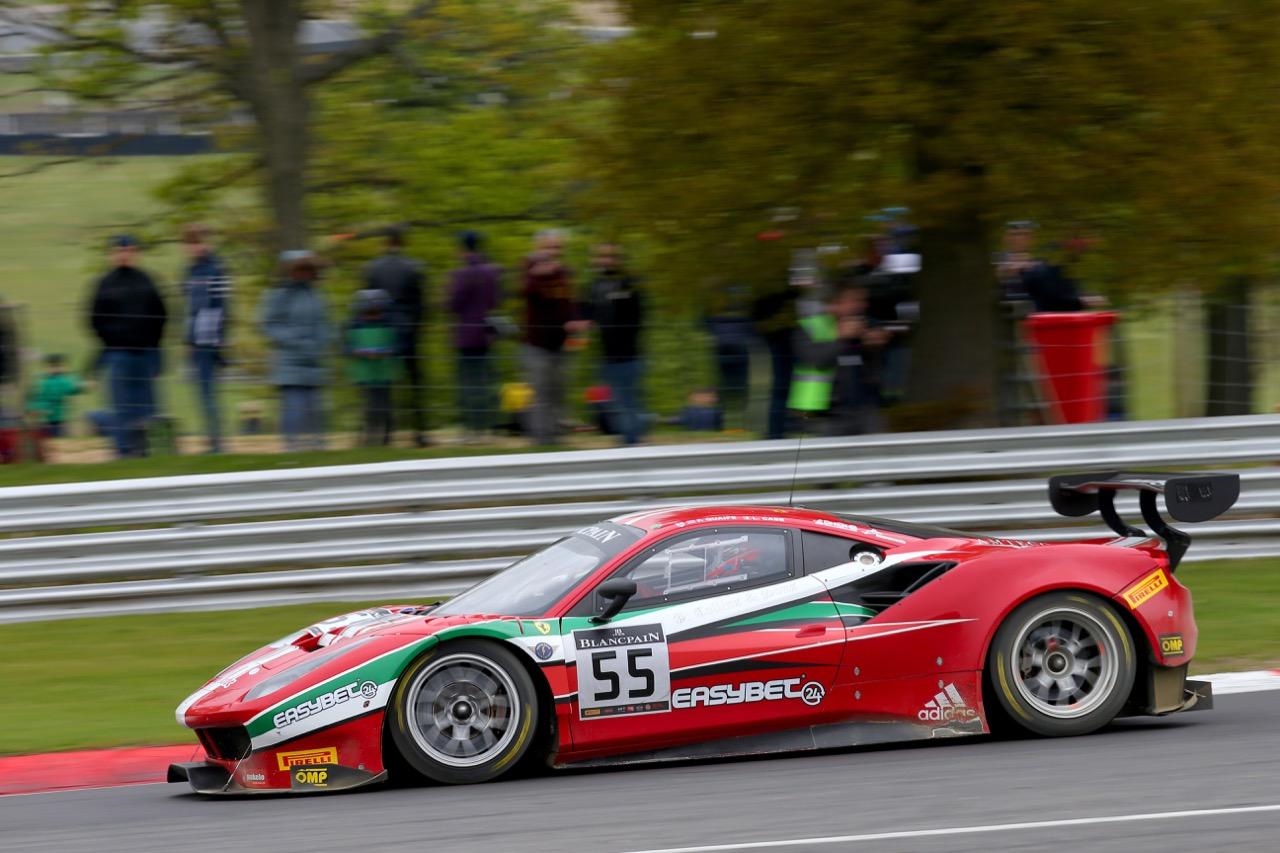 AF Corse - Phil Quaife(GBR) - Lorenzo Case(ITA) - Ferrari 488 GT3