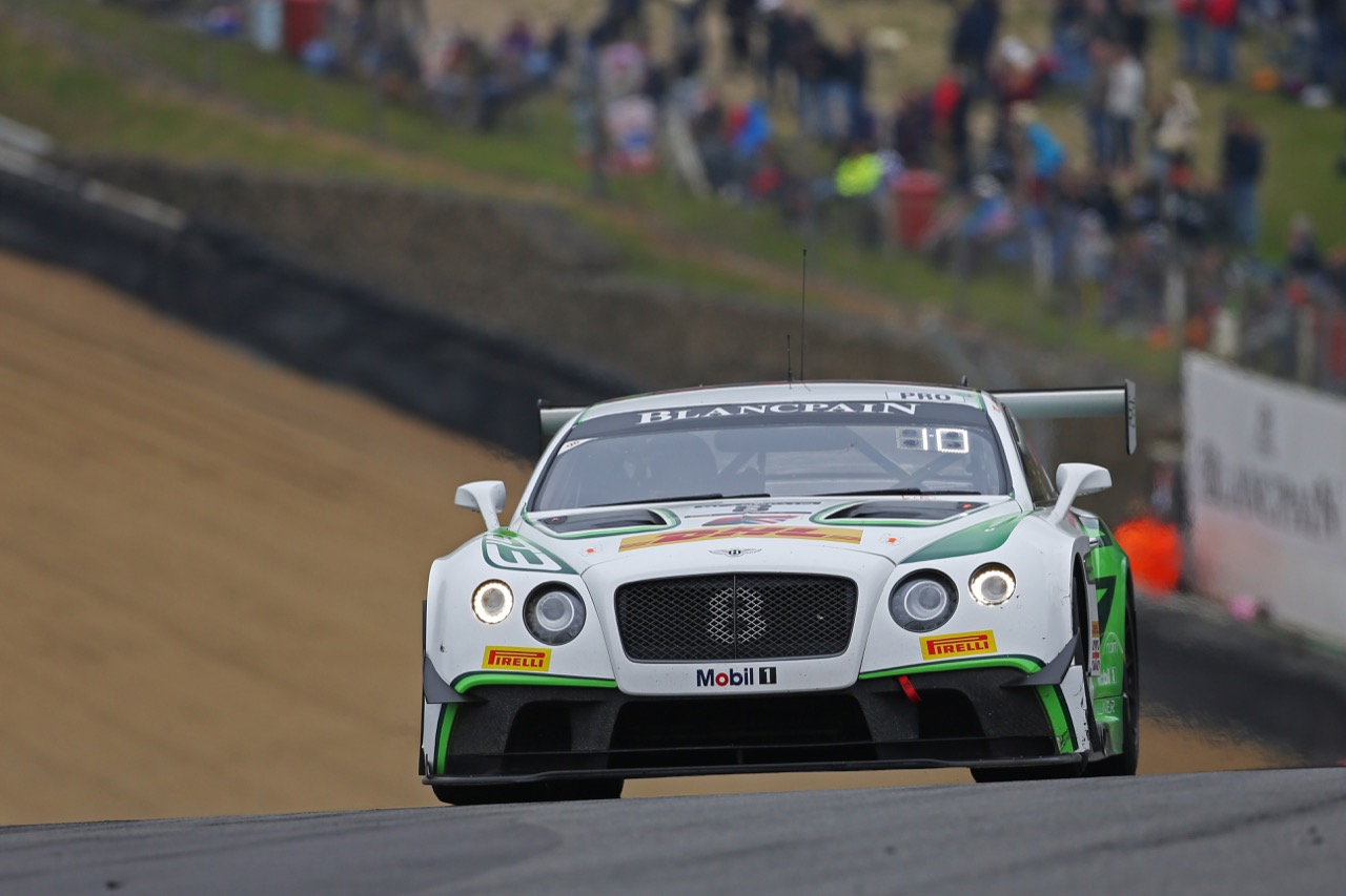 Bentley Team M-Sport - Maxime Soulet(BEL) - Andy Soucek(E) - Bentley Continental GT3