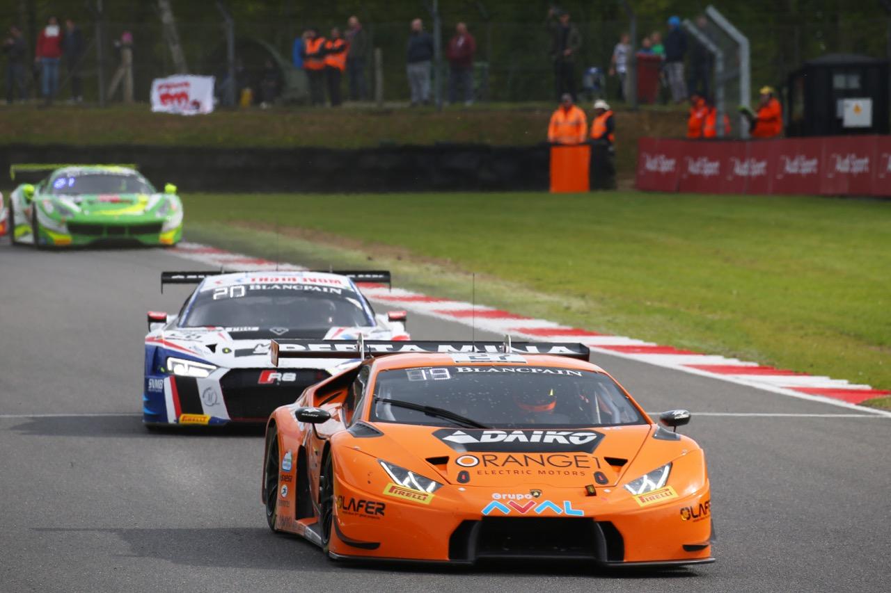 Orange 1 Team Lazarus - Gustavo Yacaman(COL) - Fabrizio Crestani(ITA) - Lamborghini Huracan GT3