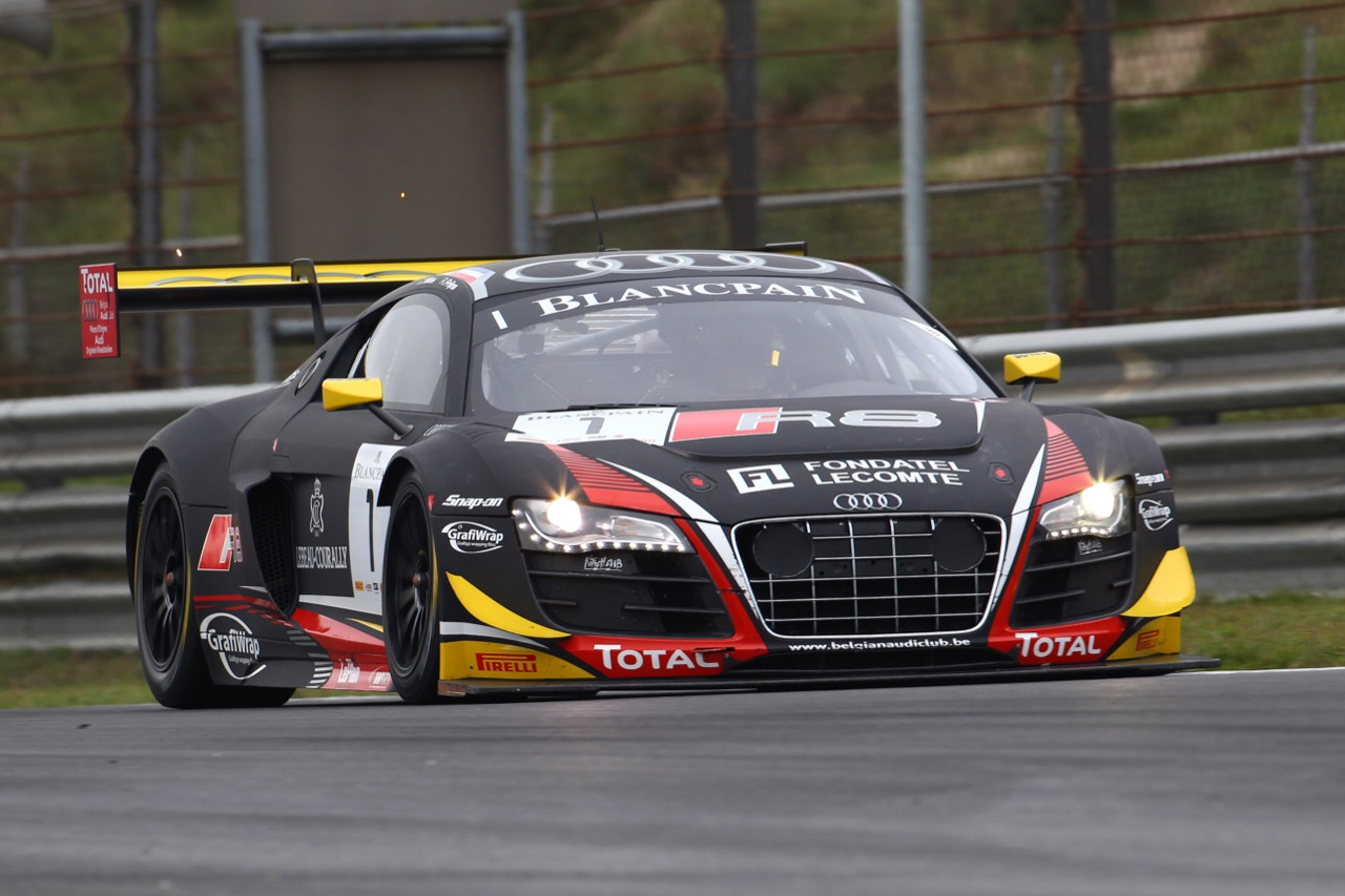 10.10.2015 - Christopher Mies - Robin Frijns, Audi R8LMS Ultra, Belgian Audi Club Team WRT