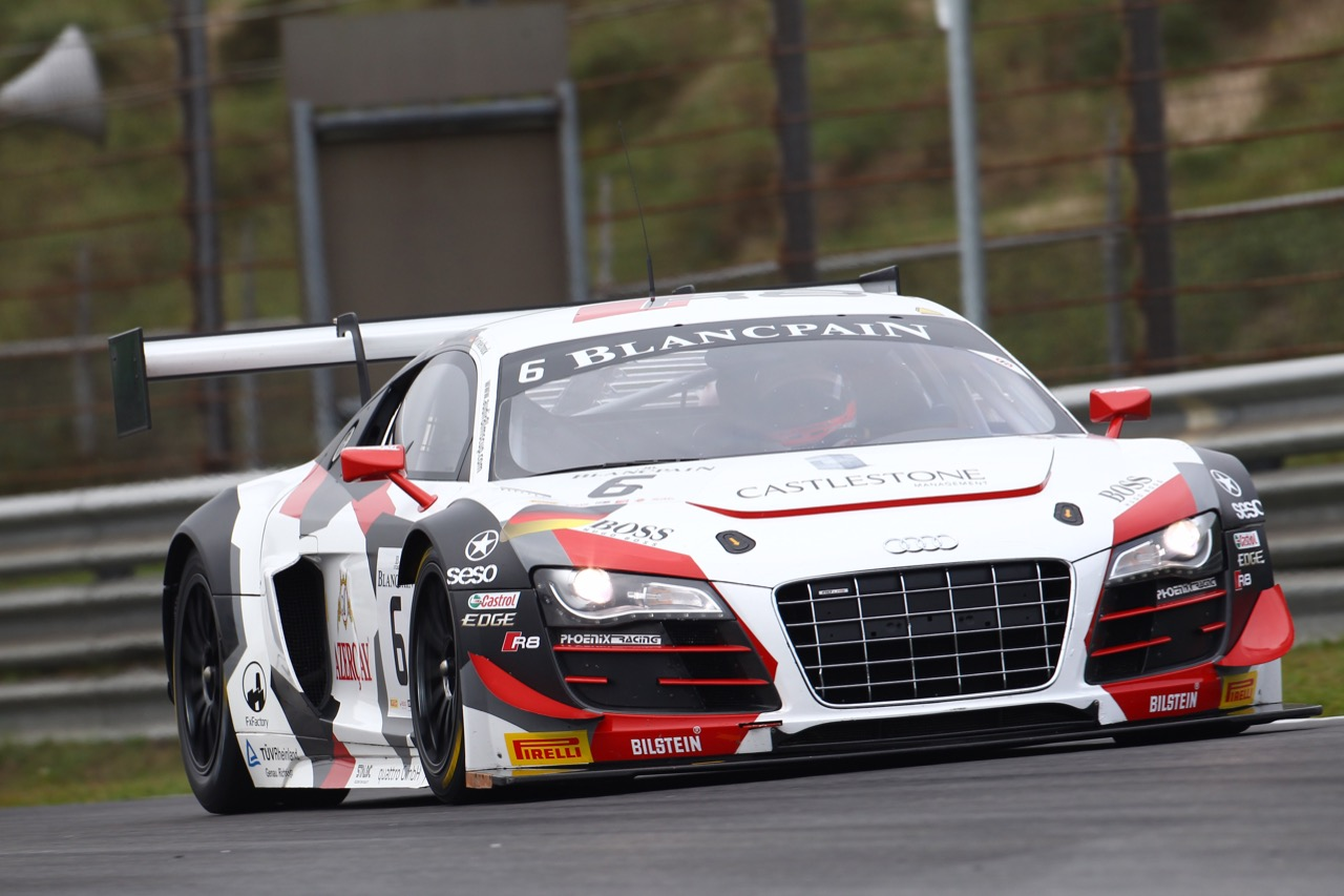 10.10.2015 - Niki Mayr-Melnhof  - Markus Winkelhock, Audi R8LMS Ultra, Phoenix Racing