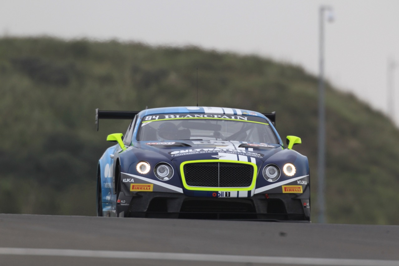 10.10.2015 - Vincent Abril - Maximilian Buhk,  Bentley Continental GT3, Bentley Team HTP