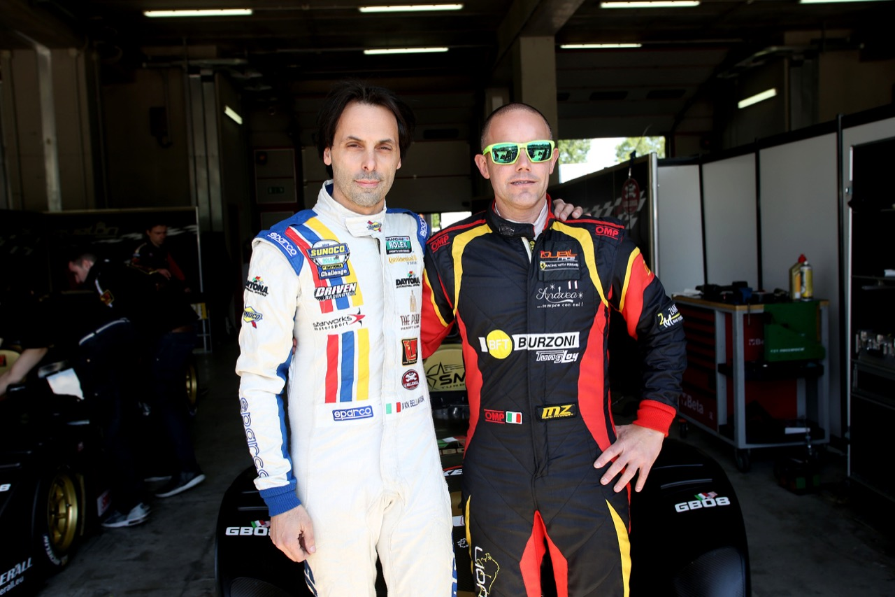 Ivan Bellarosa (Avelon Formula,Wolf GB 08 Evo-CNT #45), Mirko Zanardini (Wolf GB 08 Peugeot-CNT #41)