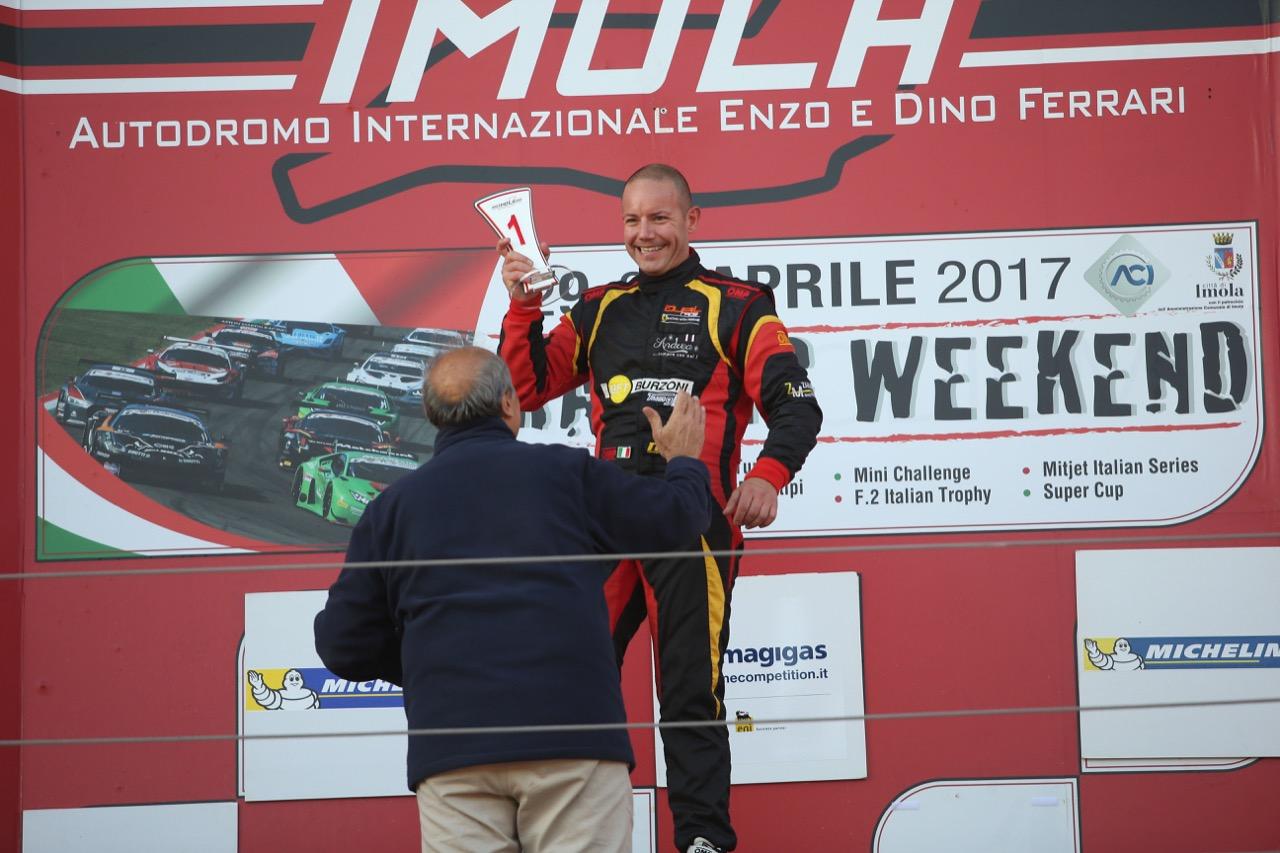 Mirko Zanardini (Wolf GB 08 Peugeot-CNT #41)