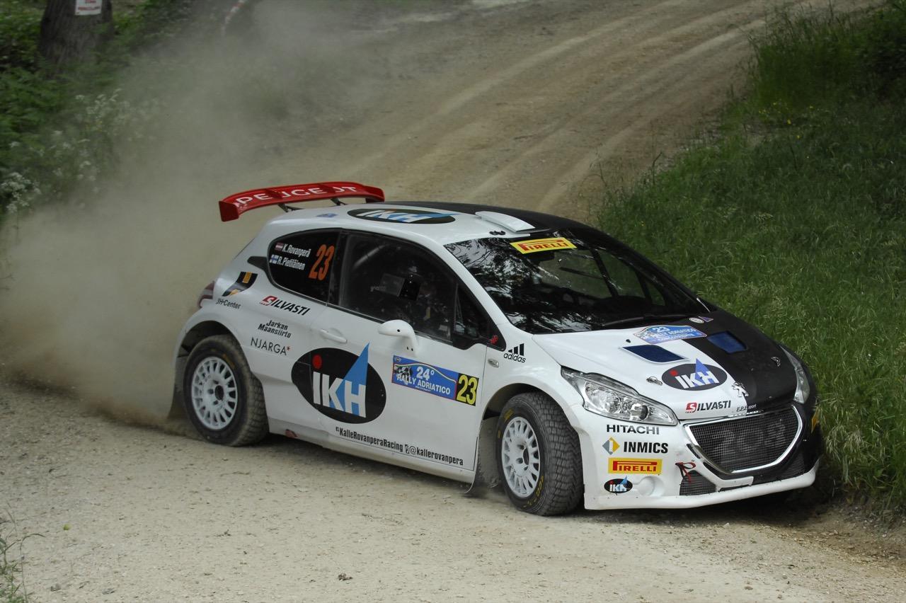 Kalle Rovanperä (FIN) - Risto Pietiläinen (FIN) - Peugeot 208 T16 R/R5